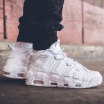 Nike Air More Uptempo 96 Men's Shoes White