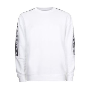 White Unknown Taping Sweatshirt - New Arrivals - New In