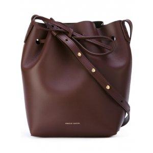 Mansur Gavriel Mini Bucket Bag Burgundy