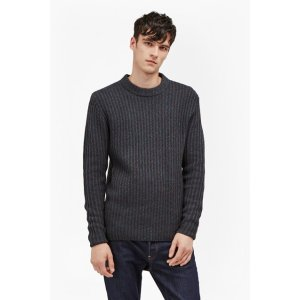 Geodes Knit Fisherman Jumper | Mens Sale | French Connection Usa