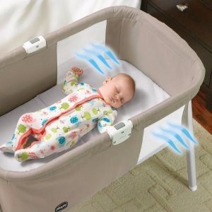 $79.99无税包邮(原价$99.99)比Amazon便宜$20!Chicco智高便携式婴儿睡篮,三色可选