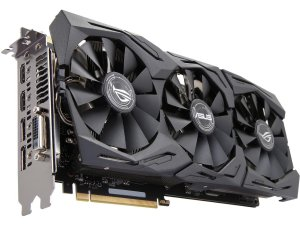 $449.99 (原价$599)ASUS ROG GeForce GTX 1070Ti 8GB 显卡 STRIX-GTX1070TI-A8G-GAMING