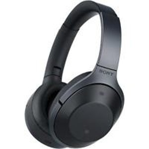 SONY MDR-1000X BLUETOOTH WIRELESS OVER-EAR NOISE CANCELLING HEADPHONES (BLACK) | eBay