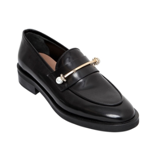 COLIAC - 20MM BEPPE PIERCING LEATHER LOAFERS