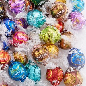 Chocolate only $0.3 EachCreate Your Own LINDOR Truffles 100-pc Bag