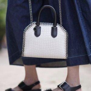 低至4折+额外8折最后一天:Stella McCartney美包美鞋等折上折
