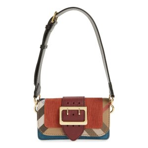 Burberry 'Small Belt Bag' Embossed Leather Convertible Shoulder Bag