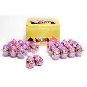 Milk Chocolate Foil Wrapped Mini Turtle Eggs, Set of 24   GODIVA