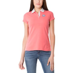 Dot Collar Polo Shirt