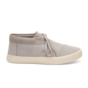 Drizzle Grey Suede Men's Emerson Mid Sneakers | TOMS®