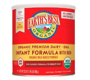 $24.03Earth's Best Organic Milk-Based Formula, Powder, with DHA, ARA, and Iron, 23.2 Oz