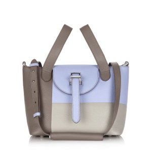 meli melo Thela Mini Color Block Satchel | Bloomingdale's