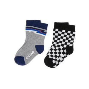 Checkered Socks 2-Pack at Crazy 8