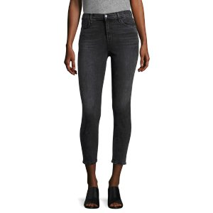 Alana High Rise Crop Skinny Jeans by J Brand at Gilt
