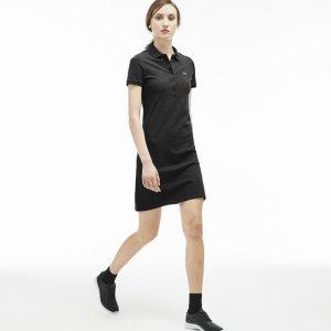 Women's Stretch Piqué Polo Dress | LACOSTE