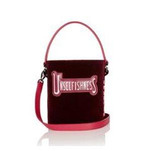 Santina Mini Bucket Bag Bordeaux Unselfishness