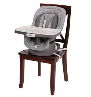 $40Graco Swivi Seat 3-in-1 Booster High Chair, Whisk