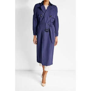 Mulberry Silk Trench Coat - Burberry