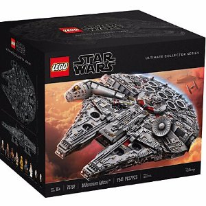$799.99 Coming Soon, LEGO galaxy in the ultimate Millennium Falcon