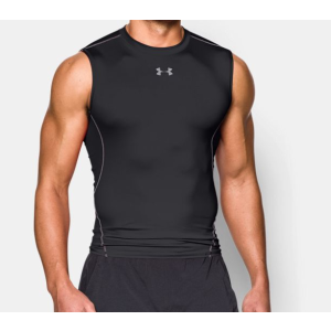 Men's UA HeatGear® Armour Sleeveless Compression Shirt | Under Armour US