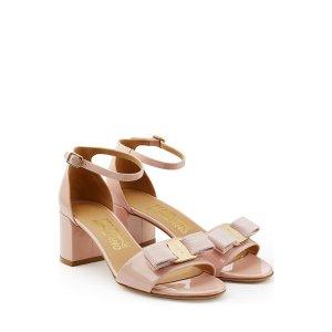 Patent Leather Sandals - Salvatore Ferragamo