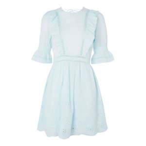 Broderie Ruffle Dress - Sale - Sale & Offers - Topshop USA