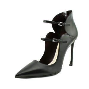 Christian Dior Christian Dior Kcp196veas900   Pointed Toe Leather  Heels | Bluefly.Com