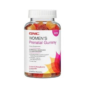 GNC Women's Prenatal Gummy - Lemon and Raspberry Lemonade