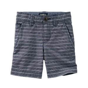 Toddler Boy Striped Flat-Front Shorts | OshKosh.com