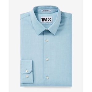 Slim Fit Iridescent 1mx Shirt   Express
