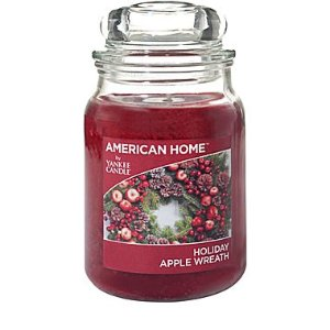 Yankee Candle® American Home™ Holiday Apple Wreath, Large Jar | Staples®