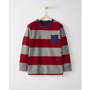 Bold Stripe Heavy Jersey