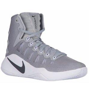 Nike Hyperdunk 2016 - Men's - Basketball - Shoes - Wolf Grey/Black/White