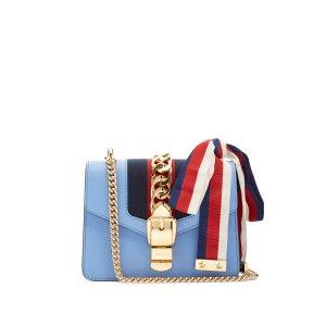Sylvie mini leather shoulder bag | Gucci