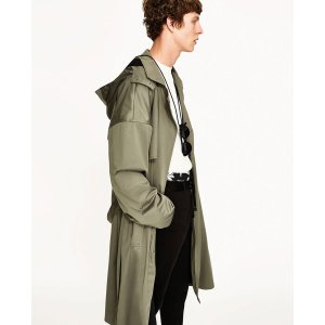 OVERSIZED TRENCH COAT - OUTERWEAR-MAN-SALE | ZARA United States