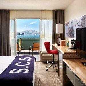 旧金山Hotel Zephyr酒店