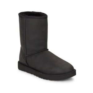 Classic Short Leather & UGGpure Boots