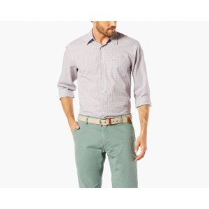 Casual Shirt, Standard Fit | GRISAILLE PLAID | Dockers® United States (US)