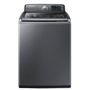 Shop Samsung Activewash with Built In Sink 4.8-cu ft High-Efficiency Top-Load Washer (Platinum) ENERGY STAR at Lowes.com