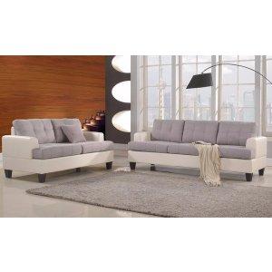 Laura S Modern Livingroom Set | Sofamania.com