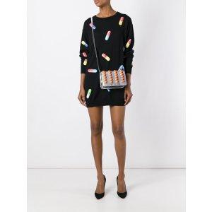 Moschino Pill Print Sweater Dress