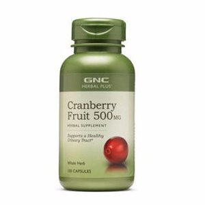 GNC Herbal Plus® 蔓越莓精华 500 mg 100粒,