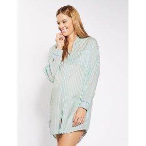 MATERNITY Stripe Sleepshirt