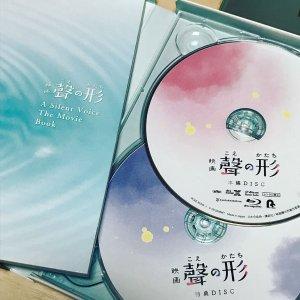 $60.7/RMB396.6 直邮中美日本 声之形 初回限定版 蓝光光碟 热卖