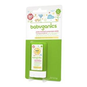 Babyganics Sunscreen Stick SPF 40, 0.47 Oz | Jet.com