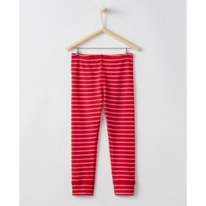 Girls Cropped Opposite Stripe Loose Leggings from Hanna Andersson