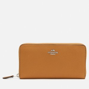 Coach Women's Accordion Zip Purse - Caramel - Free UK Delivery over £50
