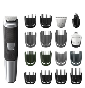 $25Philips Norelco Multigroom 5000, 18 attachments, MG5750/49