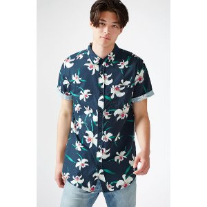 PacSun Flying Blooms Short Sleeve Button Up Shirt at PacSun.com