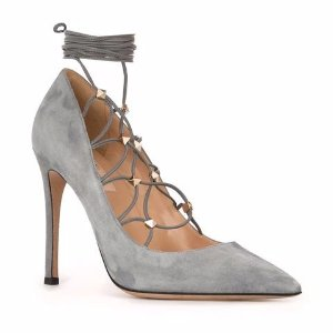 Valentino Valentino Garavani 'Rockstud' Lace-up Pumps - Farfetch